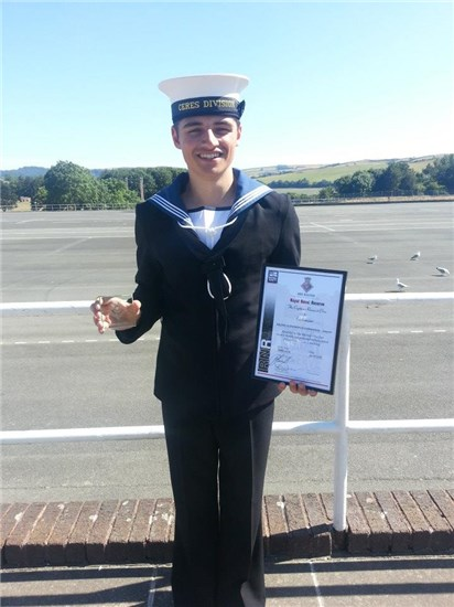 Lifetime mum so proud after son's award-winning passing out