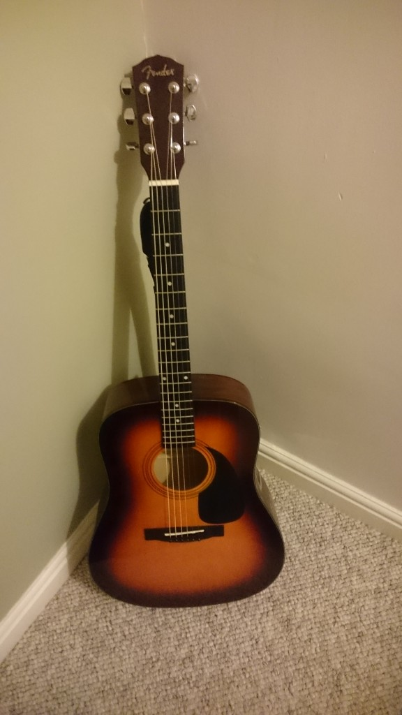 Lee's guitar